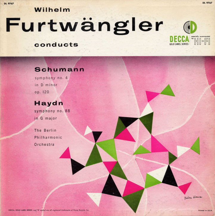 Wilhelm Furtwangler conducts Schumann & Haydn. mid 1950s