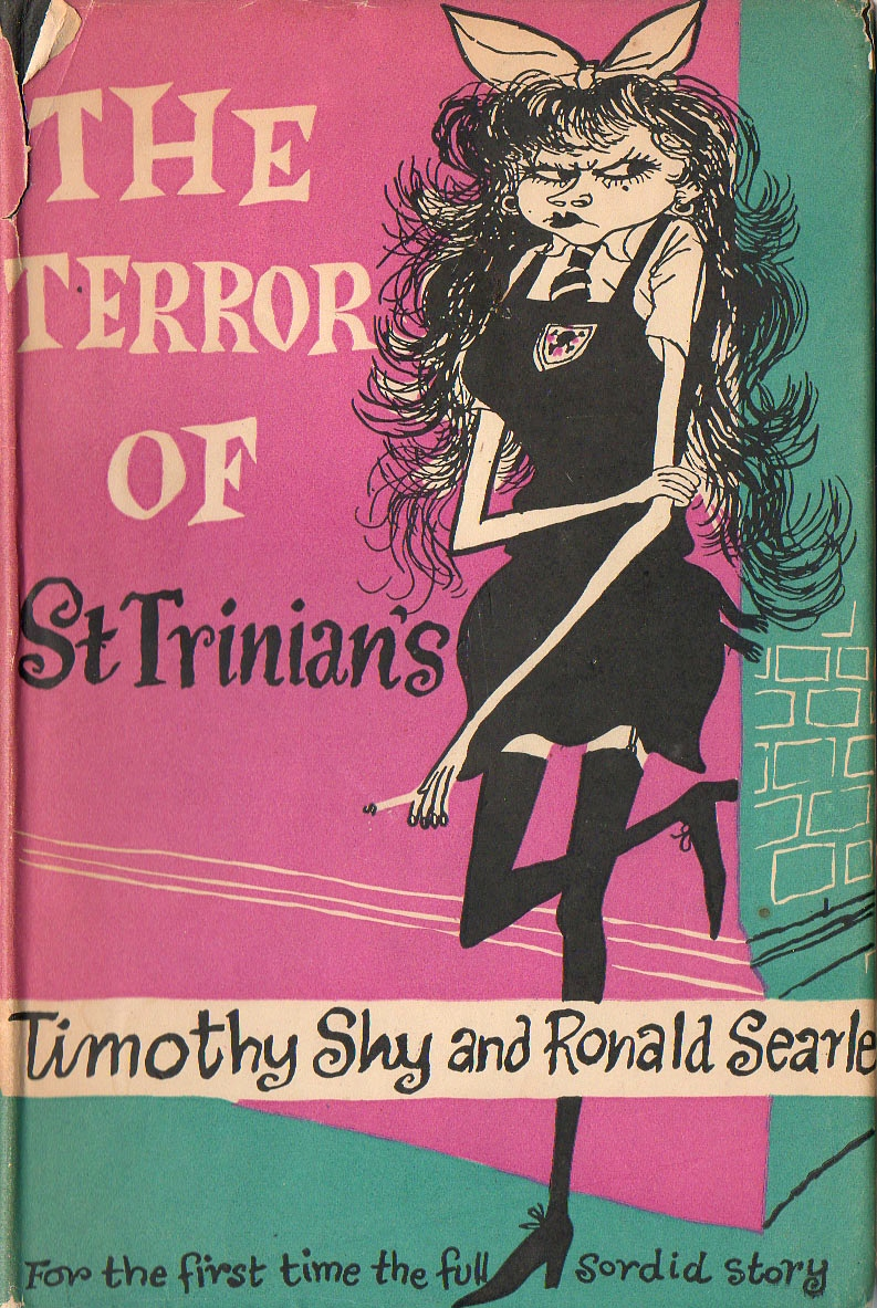 """The terror of St Trinian's"" (1952) also via magalerieaparis.wordpress.com"