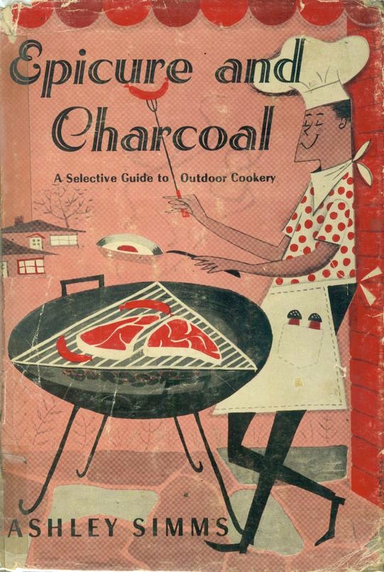 Epicure and Charcoal 1955 via  Pinterest
