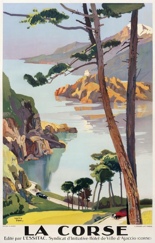 LucienPeri |La Corse - PLM, 1925 ca.