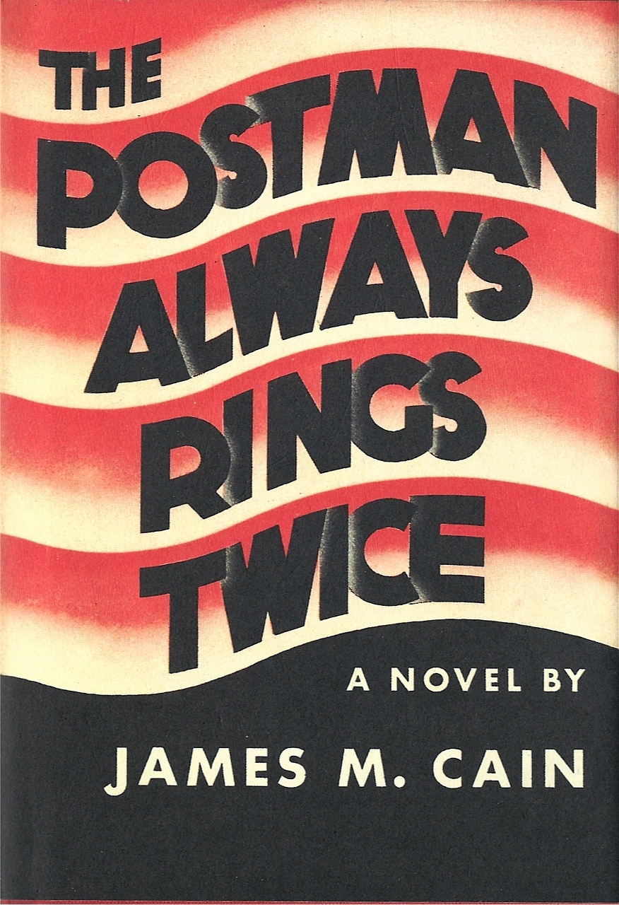 "The Postman Always Rings Twice by James M. Cain 1934.  ""We're just two punks, Frank. God kissed us on the brow that night. He gave us all that two people can ever have and we just weren't the kind that could have it. [I]t's a big airplane engine, that takes you through the sky, right up to the top of the mountain. But when you put it in a Ford, it just shakes it to pieces. That's what we are, Frank, a couple of Fords."""