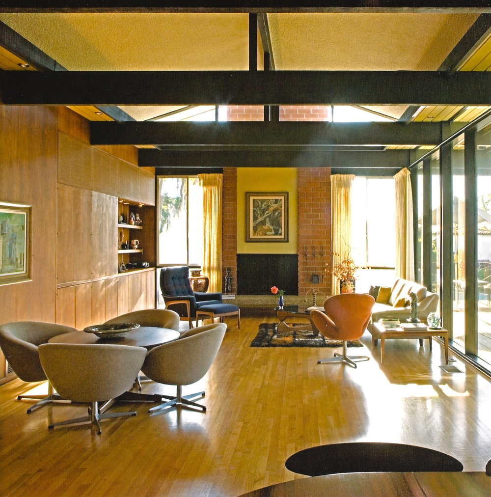 Edward Fickett, 1966, George & Marion Jacobson house #2 from Forgotten Modern photo: Alan weintraub