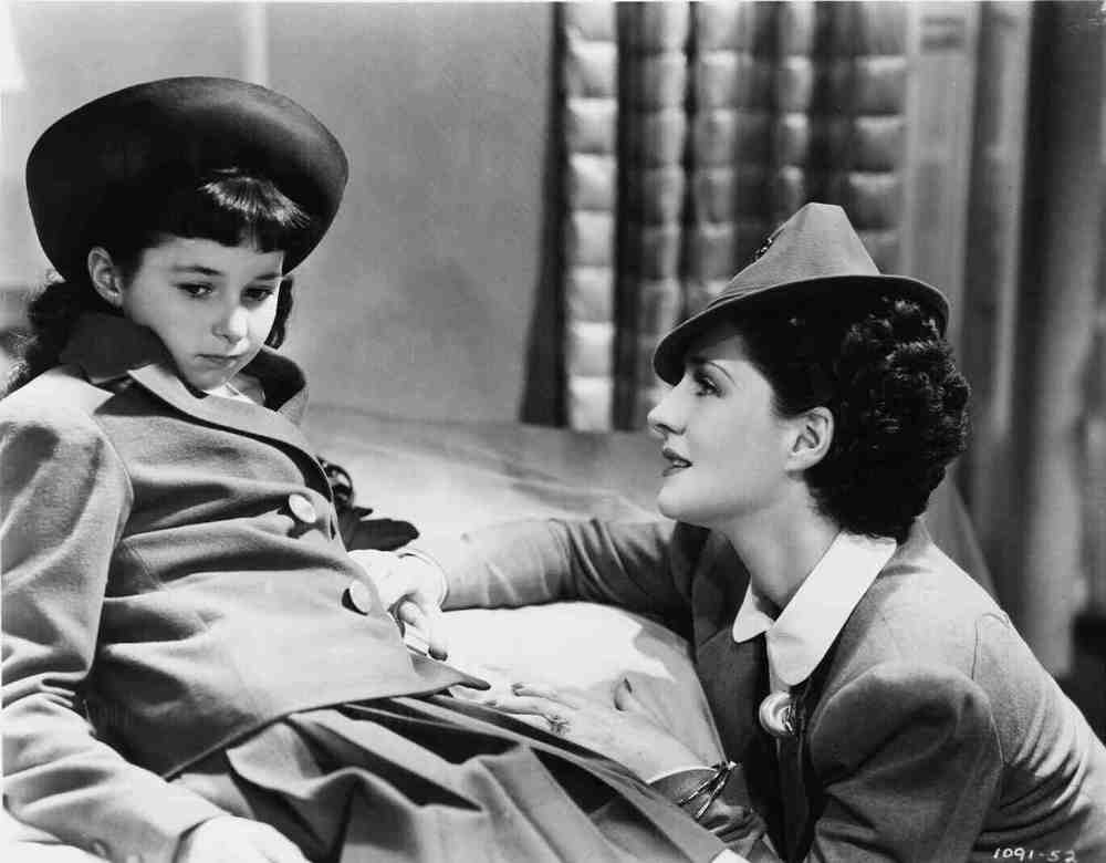 Norma Shearer and Virginia Weidler supply the pathos, and how!