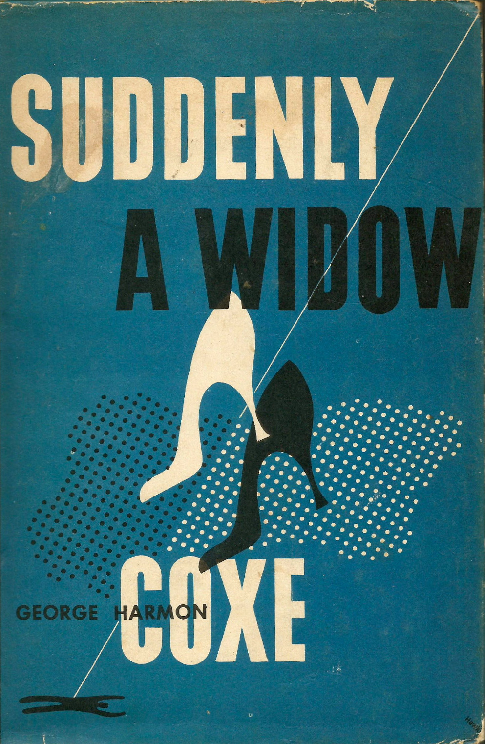 Suddenly A Widow | George Harmon Coxe 1956