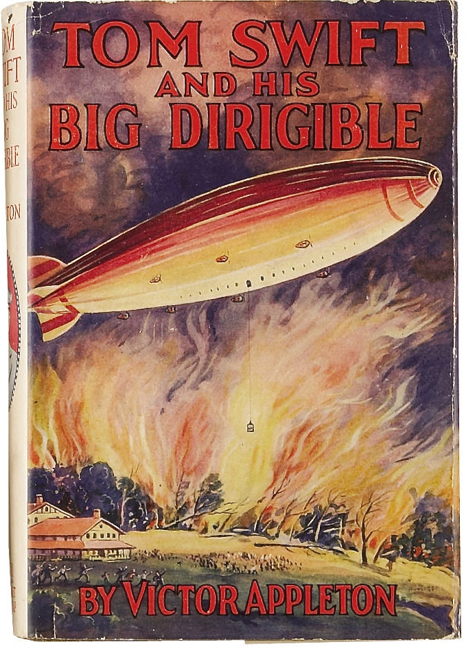 om Swift and His Big Dirigible. New York: Grosset & Dunlap Publishers, 1930. First edition.