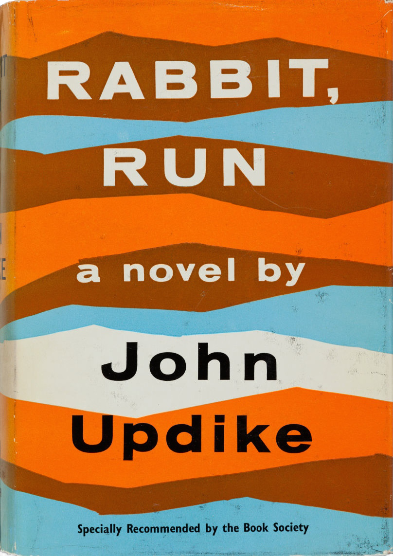 american essay new novel rabbit run The centaur (1963), winner of the national book award for fiction, is a contrasting companion piece to rabbit, run, a study of a good and dutiful family man and the spiritual cost of his self-sacrificing devotion the novel imagines the story of chiron―the noblest of the centaurs, who, grievously wounded yet unable to die, gives up his.
