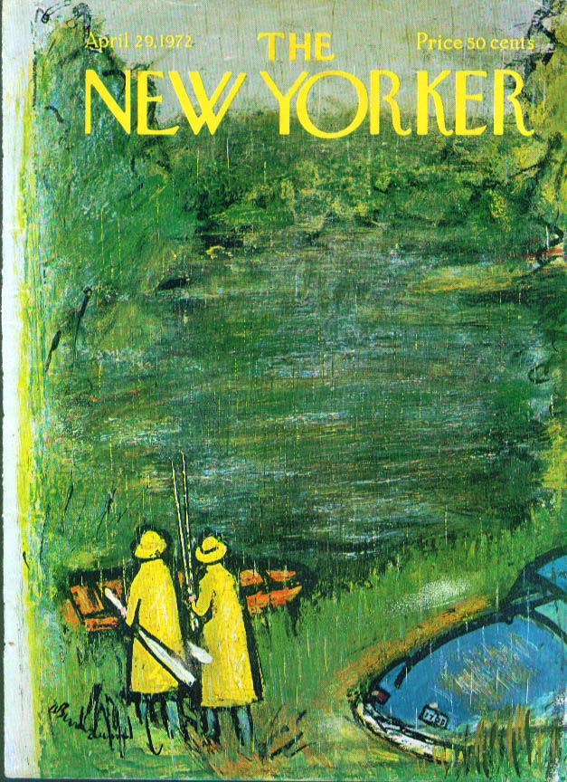 New Yorker April 29, 1972 Abe Birnbaum