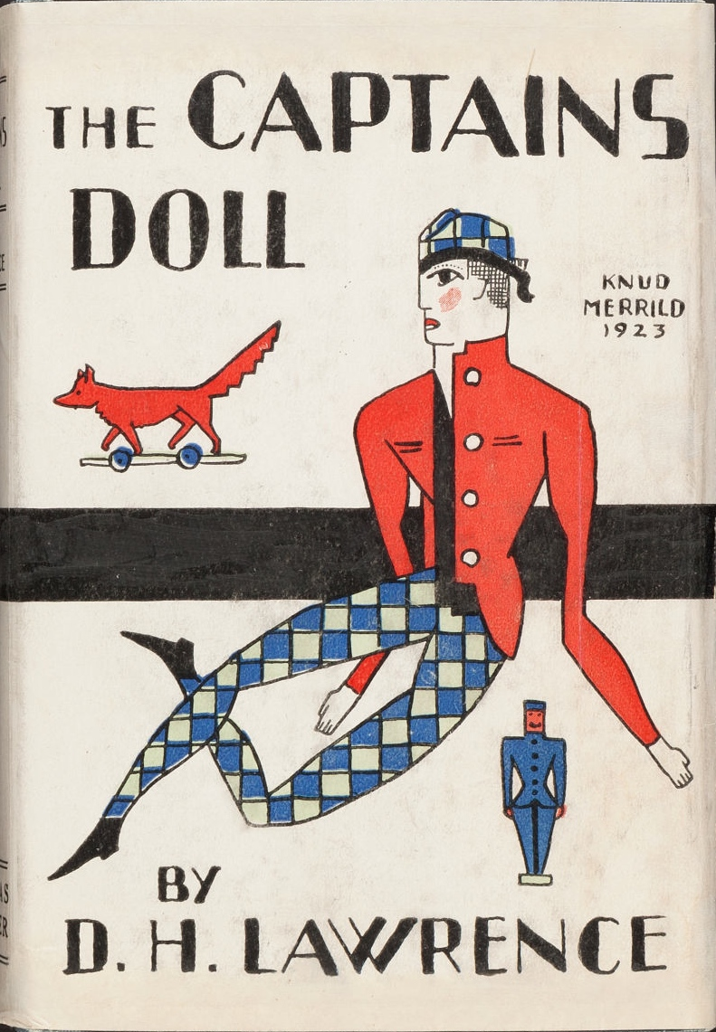 D. H. Lawrence. The Captain's Doll. New York: Thomas Seltzer, 1923. First American edition.  via