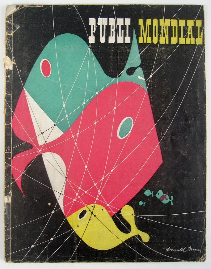 Cover of Publimondial by Donald Brun. 1948