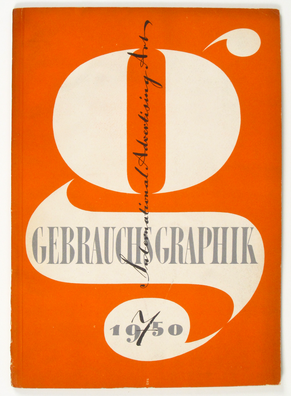 Cover of Gebrauchsgraphik by Heinz Hadem, 1950