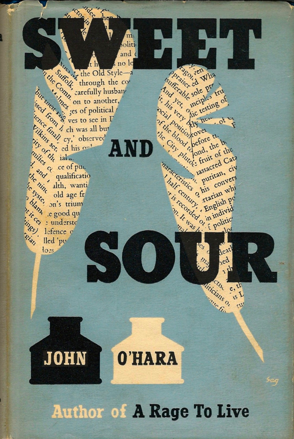 Sweet and Sour, by John O'Hara First UK edition 1955