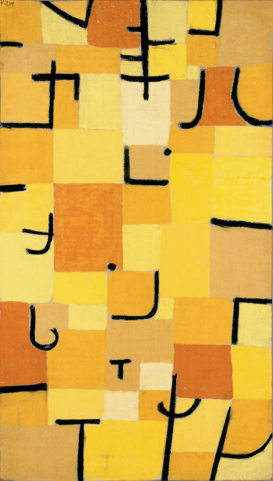 Characters in yellow 1937