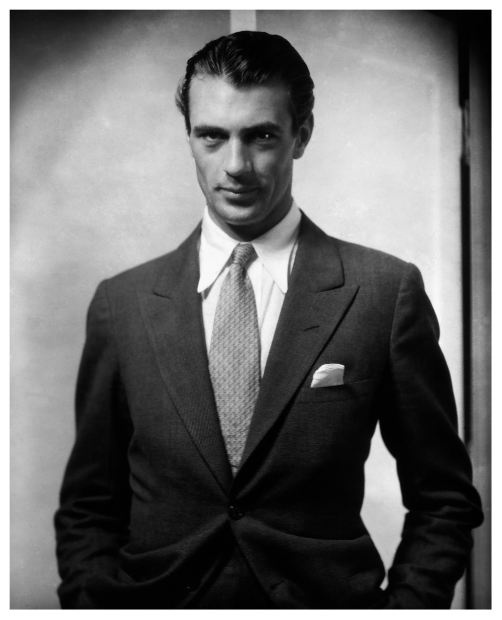 Gorgeous image of young Gary Cooper by Edward Steichen 1930