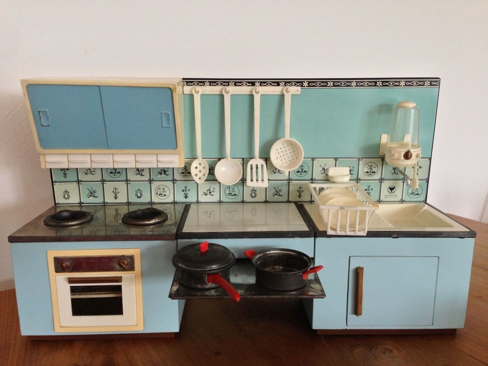 Fuch's Dutch miniature kitchen via eBay