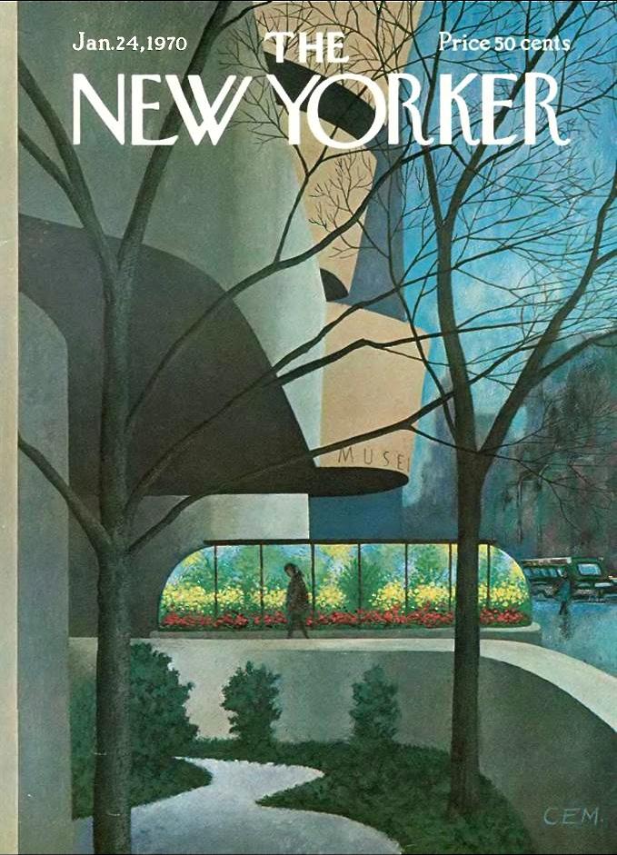 Charles E. Martin | The Guggenheim, New Yorker Jan 24, 1970