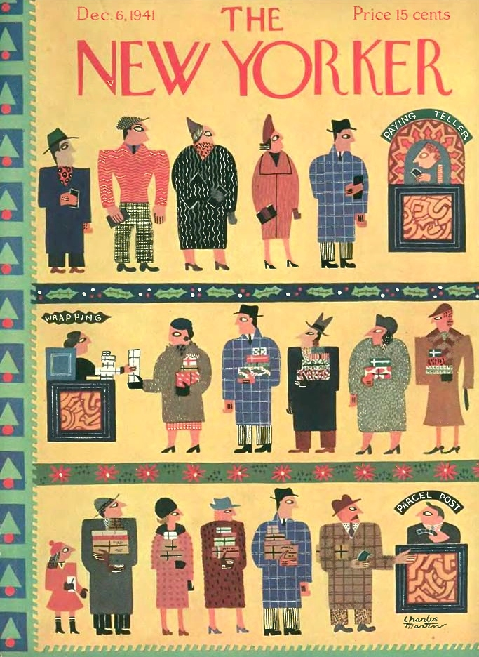 Charles E. Martin | New Yorker Dec 6, 1941