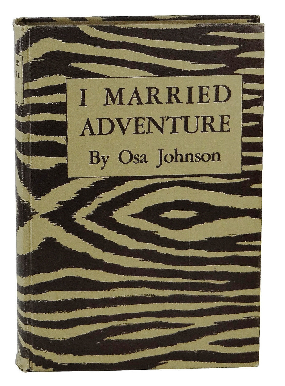 I Married Adventure, by Osa Johnson (Mrs. Martin Johnson). 1940. Mrs. Johnson writes of the years she and her husband spent in Africa and the south seas.