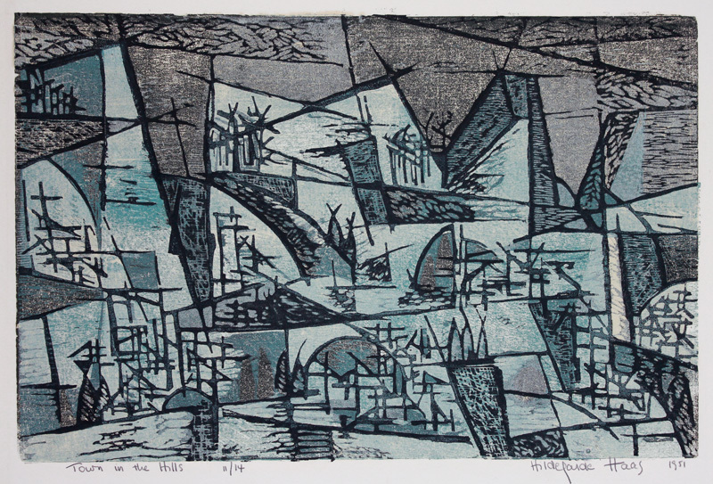 Town in the Hills 1951