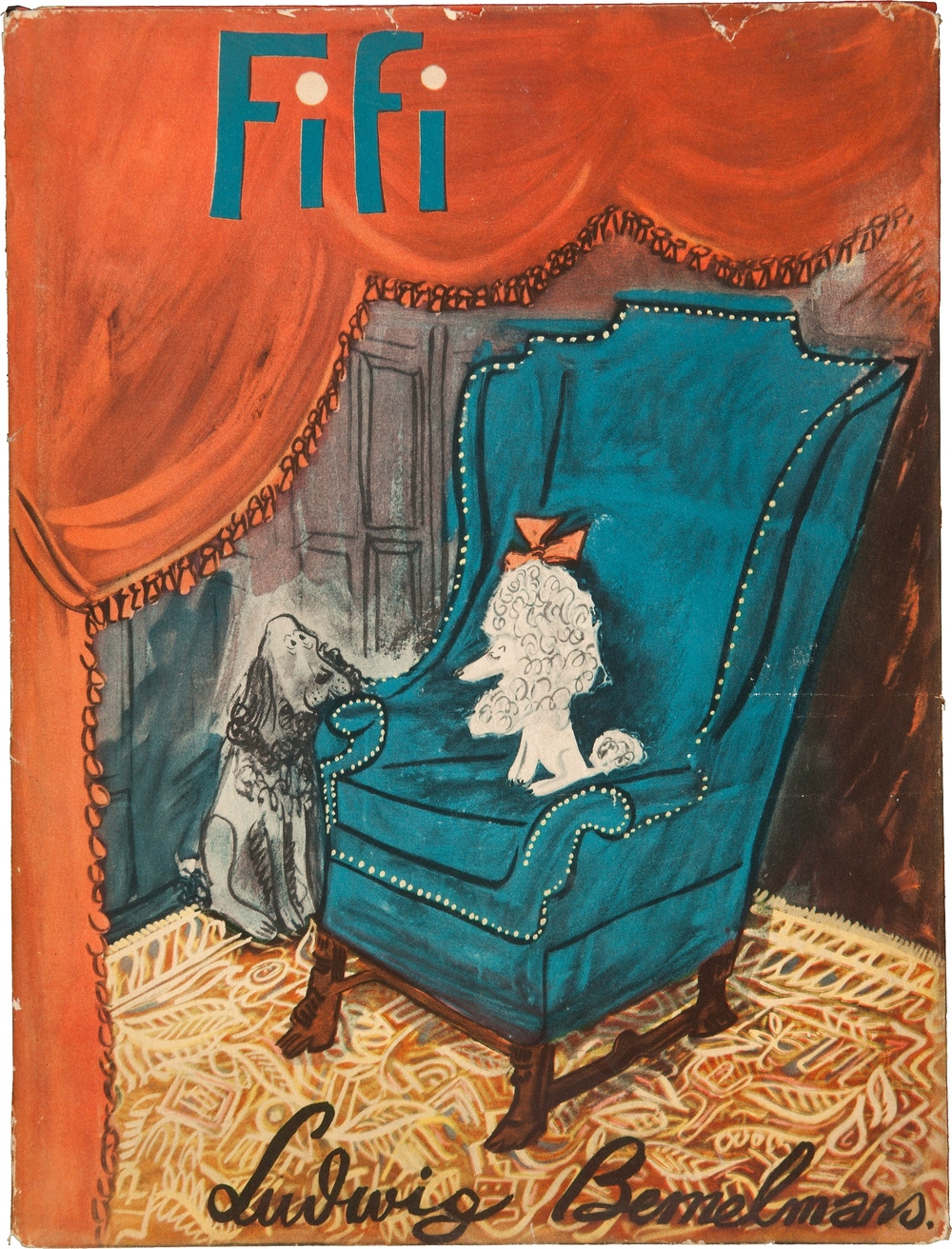 Ludwig Bemelmans. Fifi. New York: Simon and Schuster, [1940].
