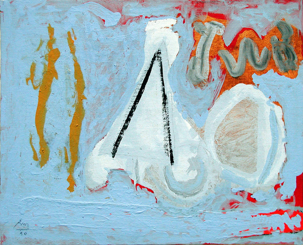 Robert Motherwell, Provincetown Bay, 1990 via  paam.org