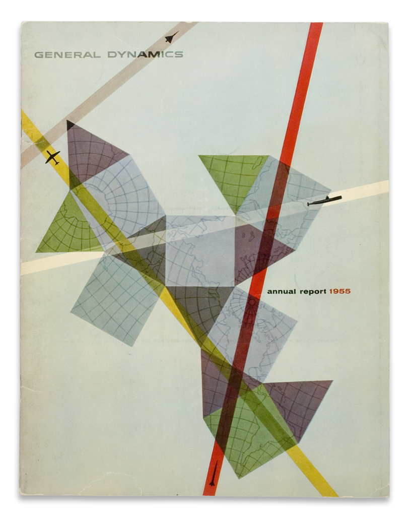 General Dynamics Annual Report 1955  via