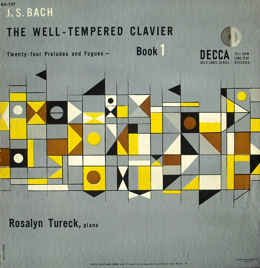 J.S Bach, The Well-tempered clavier, Decca Records