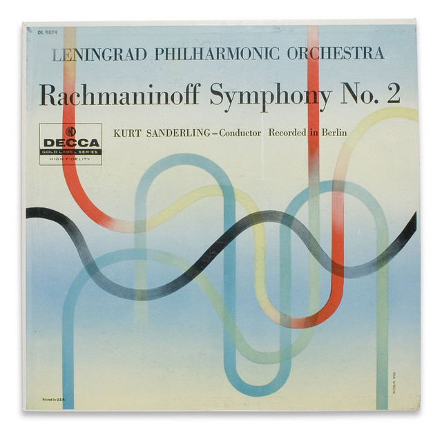 Rachmaninoff for Decca Records via