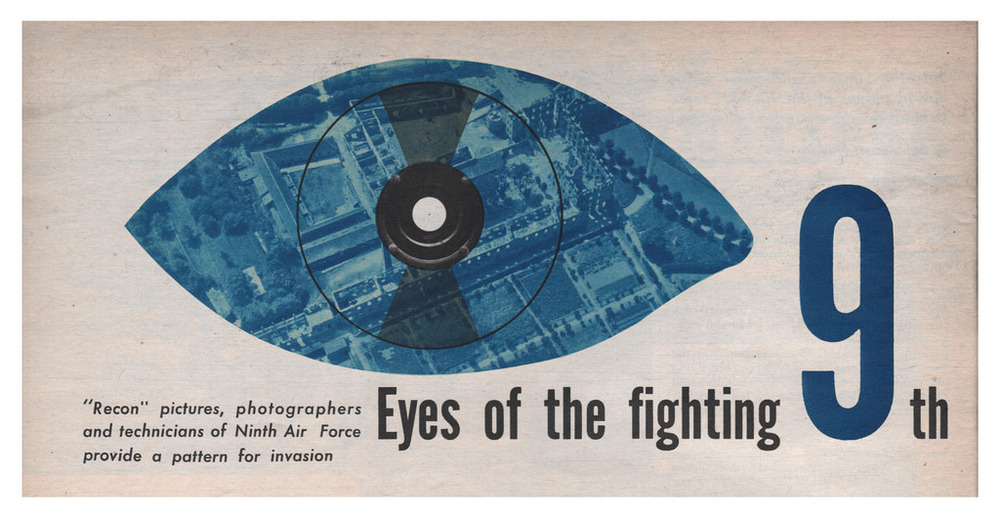 Magazine illustration, Eyes of the fighting 9th