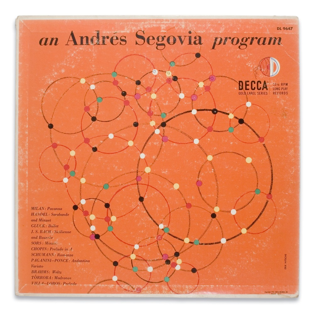 Segovia for Decca Records