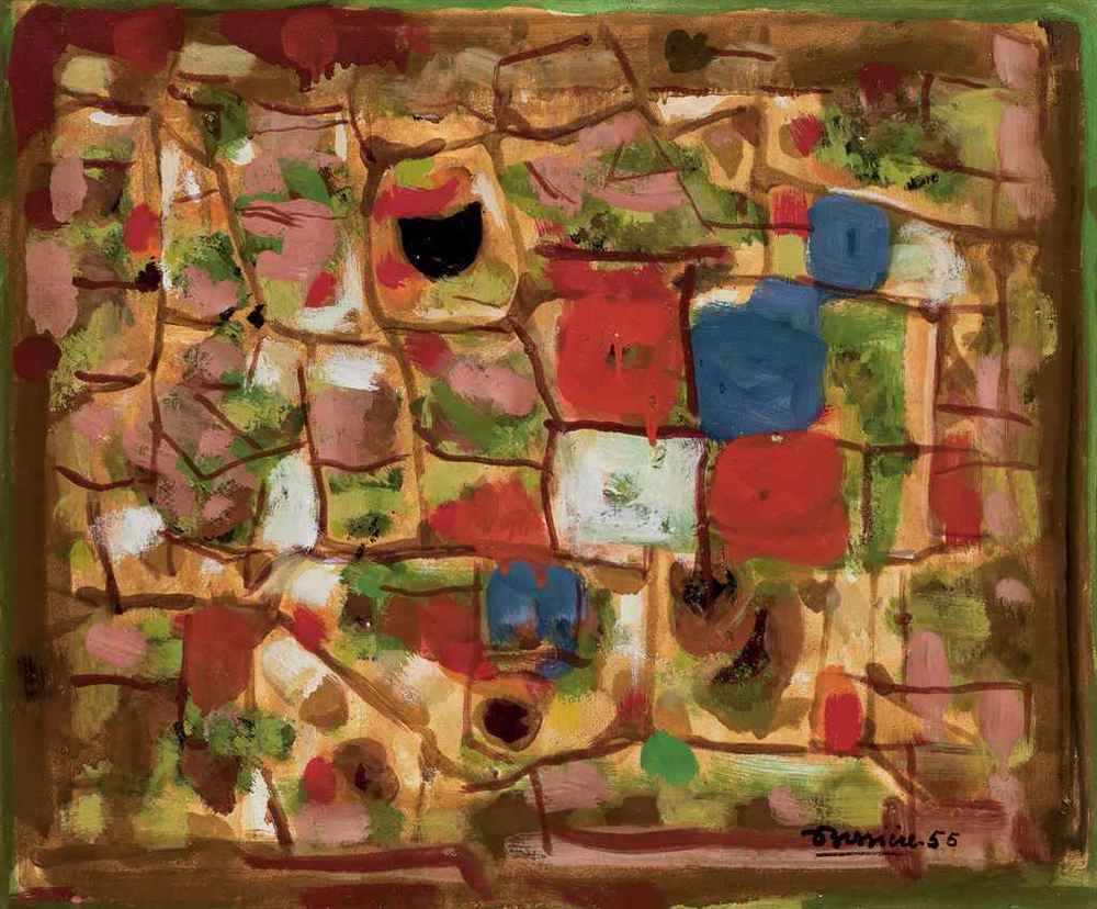 Composition by Roger Bissiere 1955