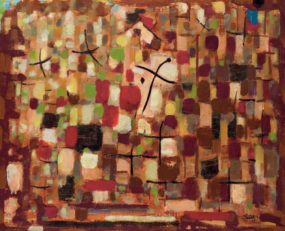 Composition Rouge 1957