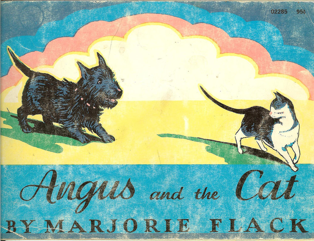 Angus and the Cat by Marjorie Flack 1970 . Available for $6 here.