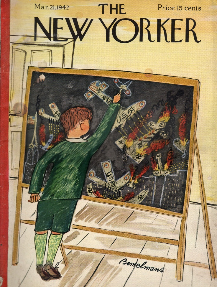 Ludwig Bemelmans The New Yorker,  March 21, 1942