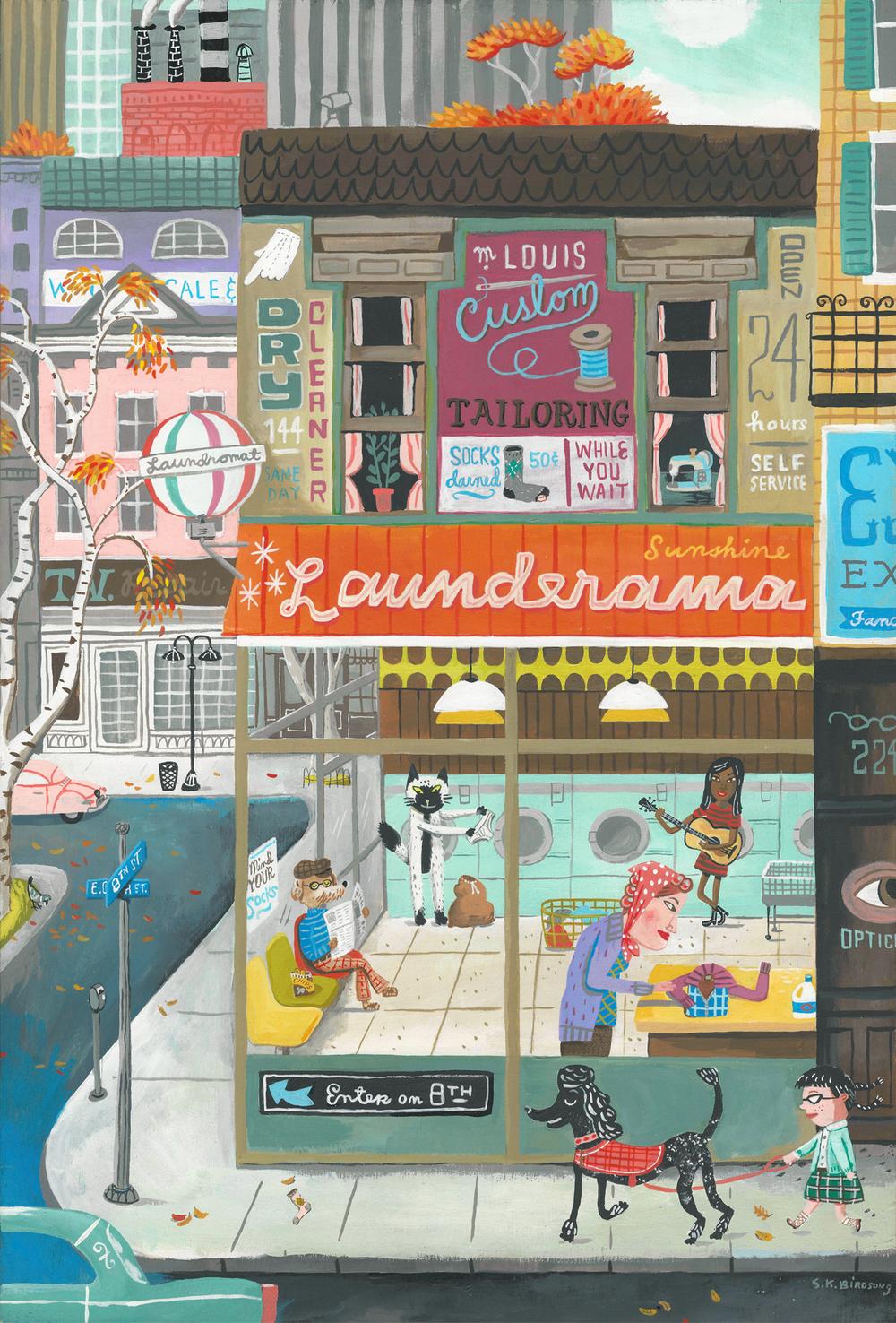 The Sunshine Launderama. New in my Etsy shop
