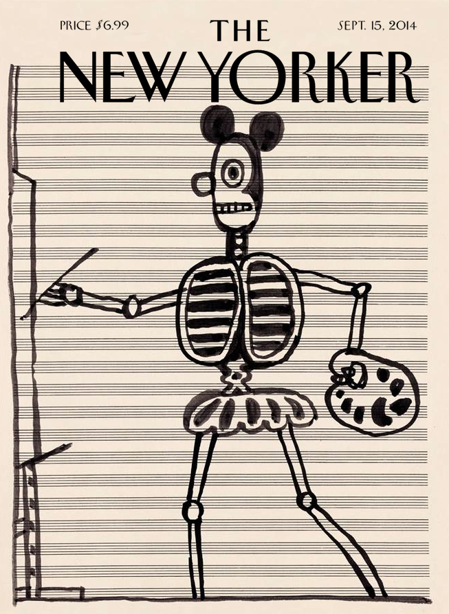 Saul Steinberg Sept 2014. Untitled, c. 1967