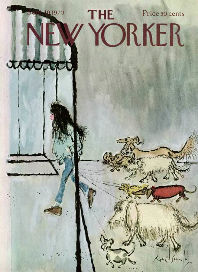 Ronald Searle 1970
