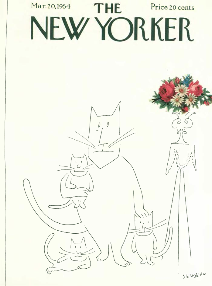 NewYorker.SaulSteinberg.1954