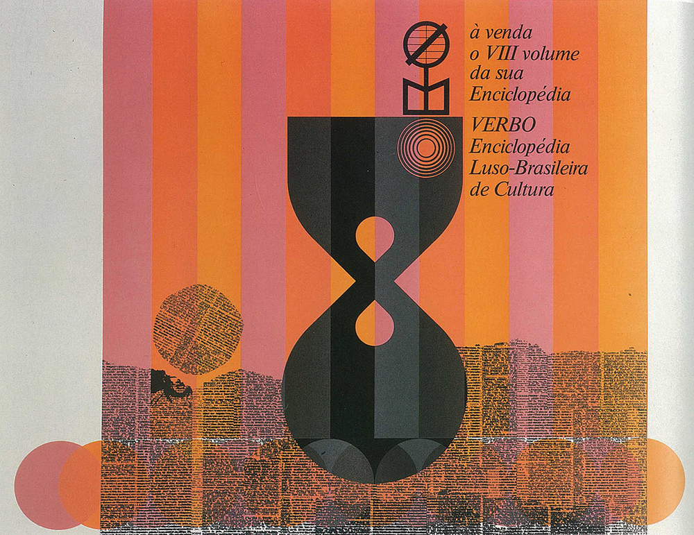 Poster for Enciclopédia luso-brasileira de Cultura. 610mm x 610mm. 1979 via Luis Gomes on Flickr