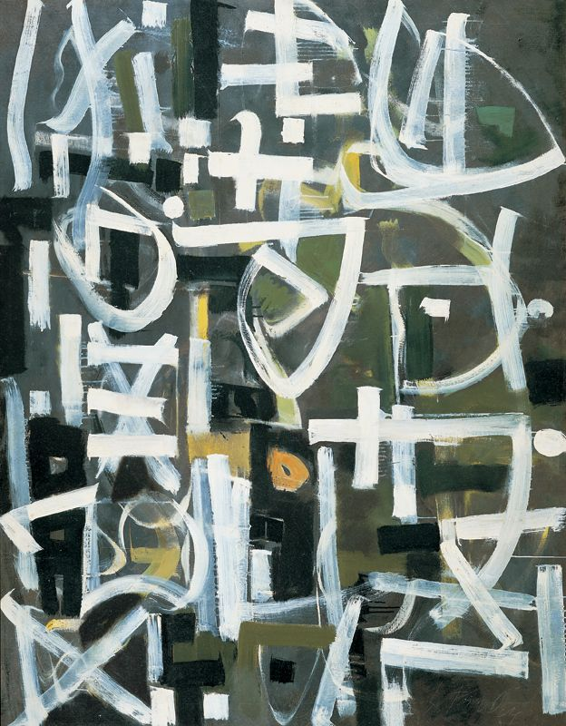 Bradley Walker Tomlin (1899–1953), Number 2 – 1950, 1959.  Whitney Museum of American Art