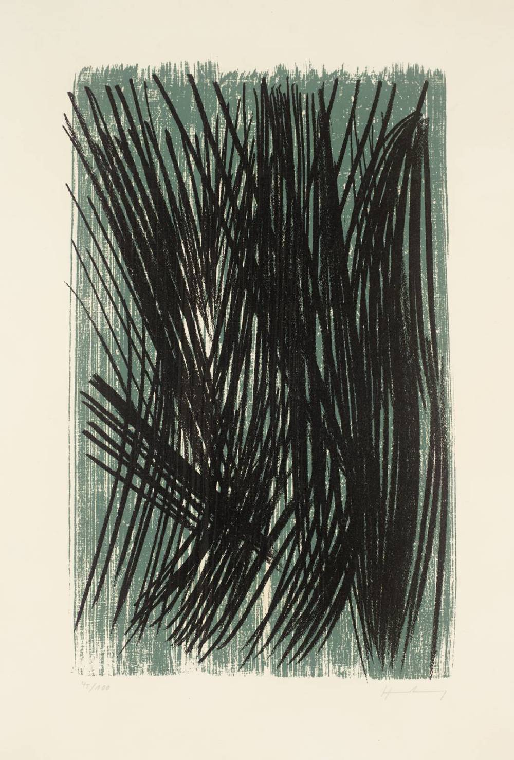"""L36""  Lithograph on paper  1957"