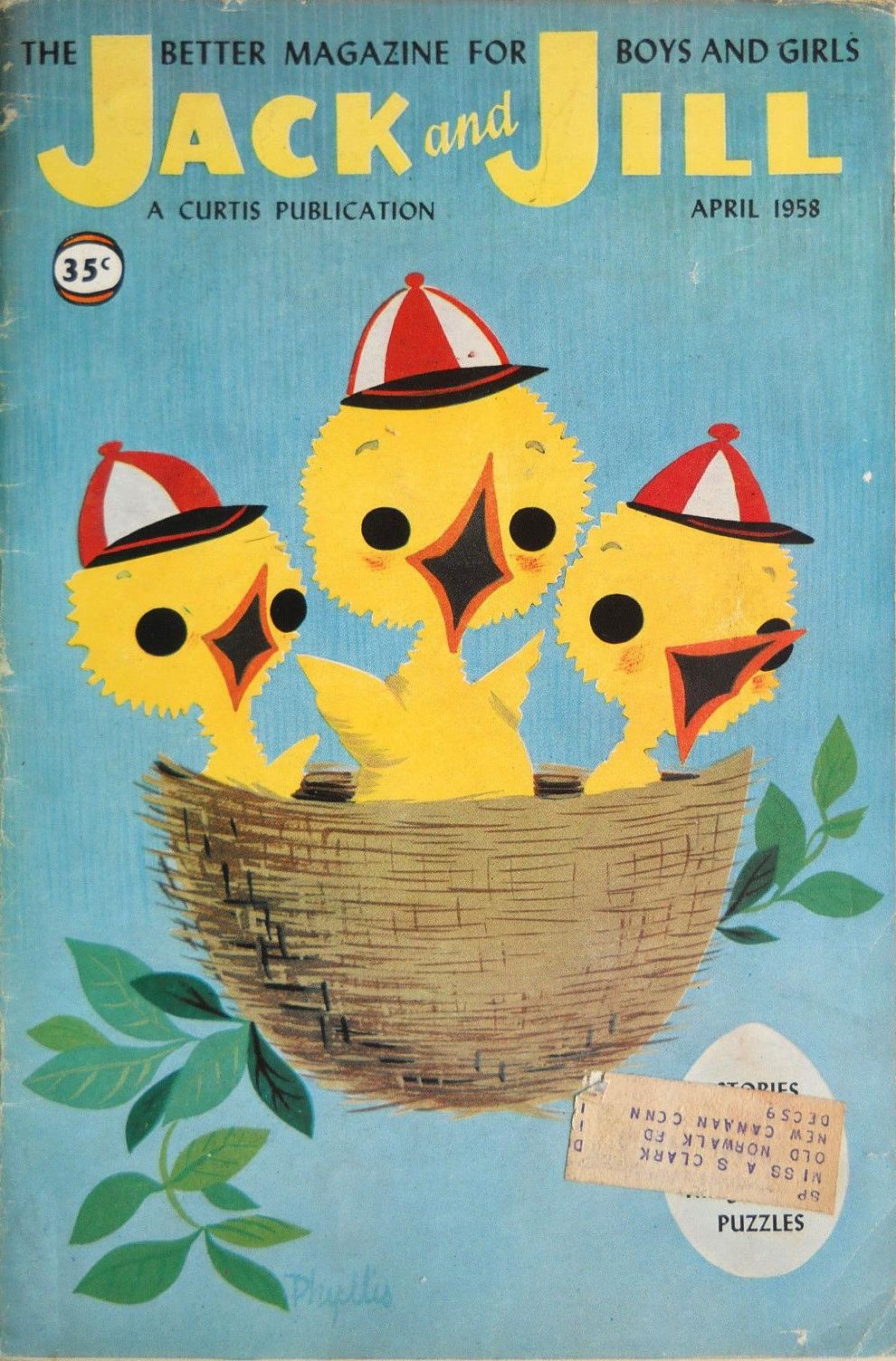 April 1958 via ebay