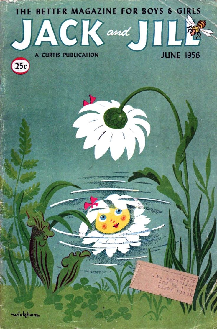 June 1956, cover by Wilbur Wickham