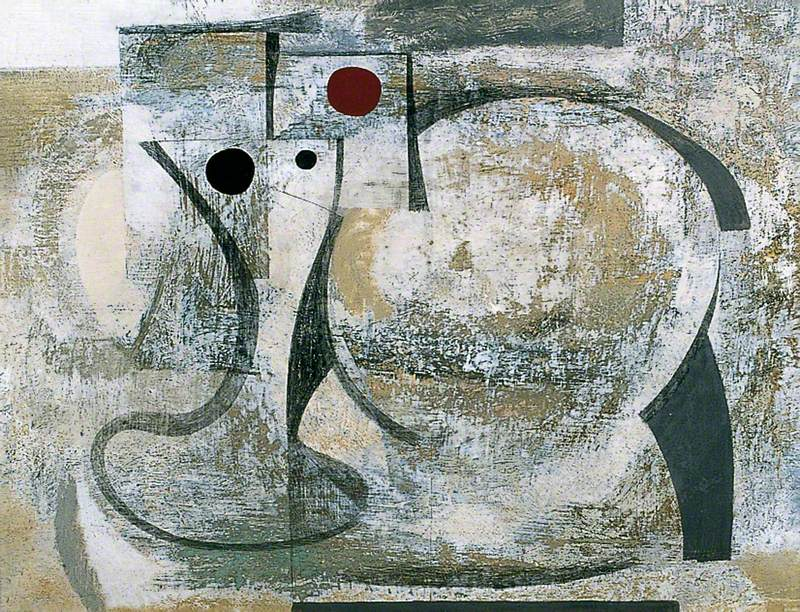 Ben Nicholson 1934 (still life - Birdie) via