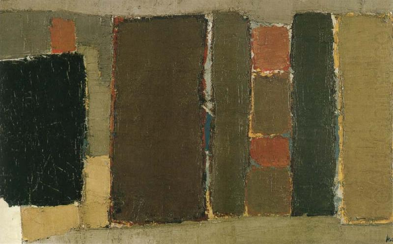 Nicolas de Staël,Figure, 1951