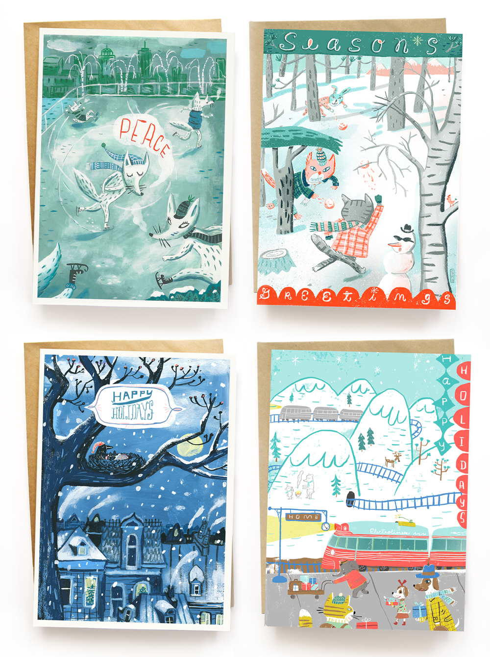 2015 greeting cards on Etsy