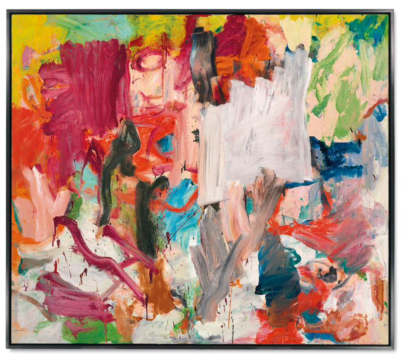 Willem de Kooning,  Untitled XXV , 1977, oil on canvas. Estimate: around $40 million; realized: $66.3   +ArtNews