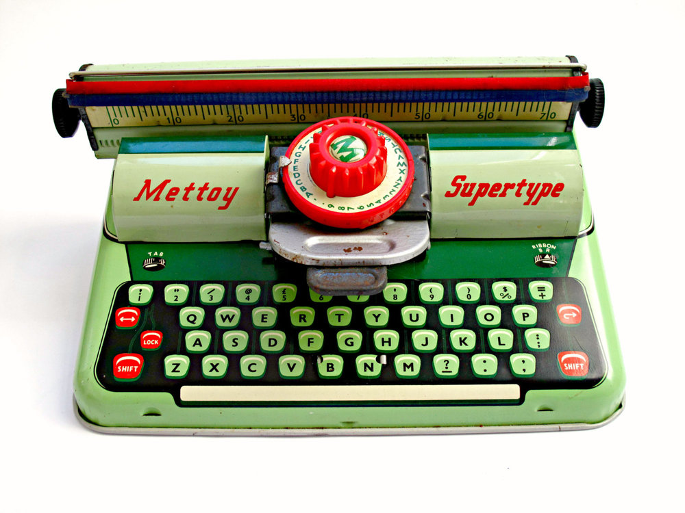 1950s Mettoy Supertype sold item from Hot House Vintage Co on  Etsy.