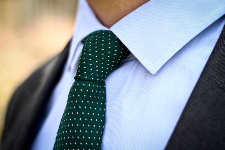 Picture of Ryan Wearing Tailored Tie
