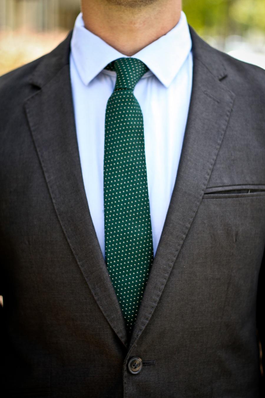 Ryan Wearing Tailored Skinny Tie