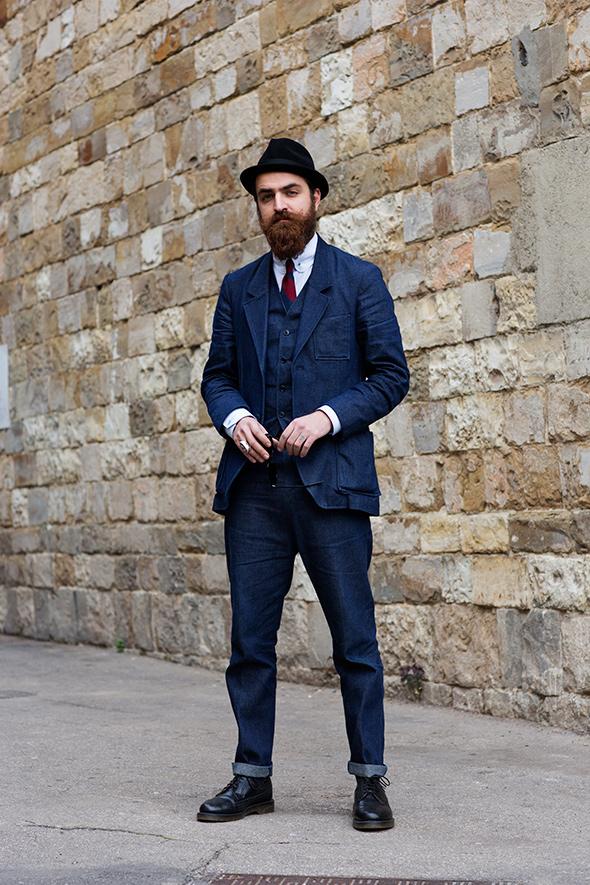 Denim Suit